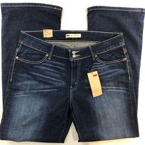 Levi's 529 Curvy Bootcut Jeans Size 16 Women's
